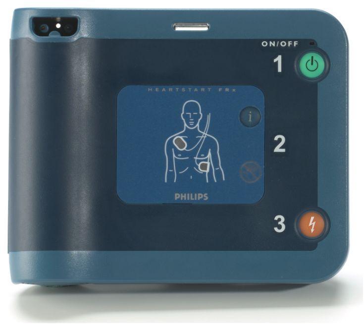 Philips HeartStart FRx AED, Automatic External Defibrillator